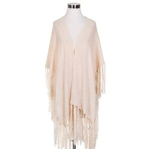 Do Everything in Love Light Weight Knit Kimono